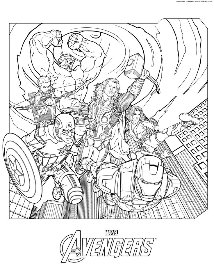 31 best coloring pages images on Pinterest Coloring sheets - fresh coloring pages printable avengers