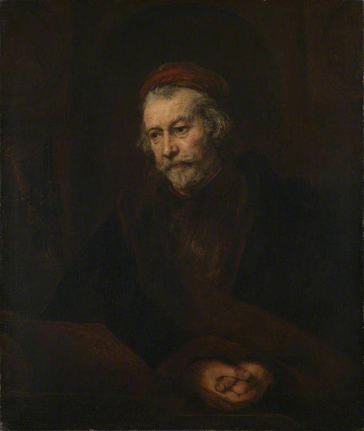Rembrandt van Rijn - De apostel Paulus