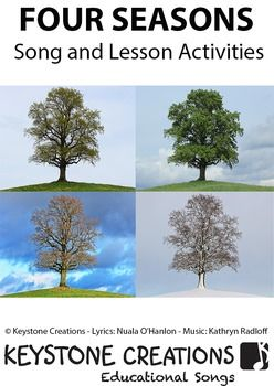 Children Learn What They SingFOUR SEASONS (PreK-3) helps children to recognize that the year is divided into four seasons. The song, with its hauntingly beautiful Irish instrumentals highlights some of the differences associated with each season, while raising awareness and appreciation for the beauty and diversity of nature.This song-based package download contains materials that integrate learning across key areas of school curriculum.DOWNLOAD INCLUDES:Mp3 Vocal Track PDF Lyrics   PDF…