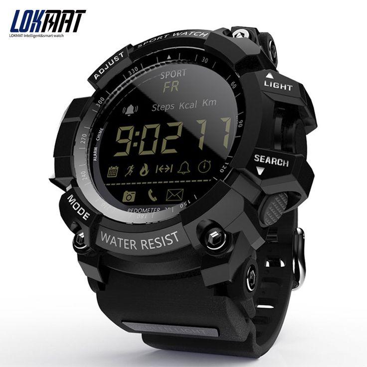 LOKMAT Smart Watch bluetooth digital men clock Pedometer