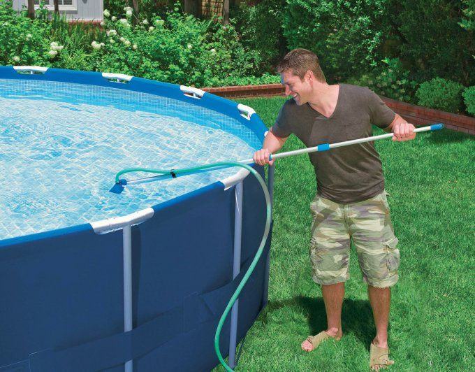 Intex Pool Maintenance Kit For Above, How To Vacuum Your Above Ground Intex Pool
