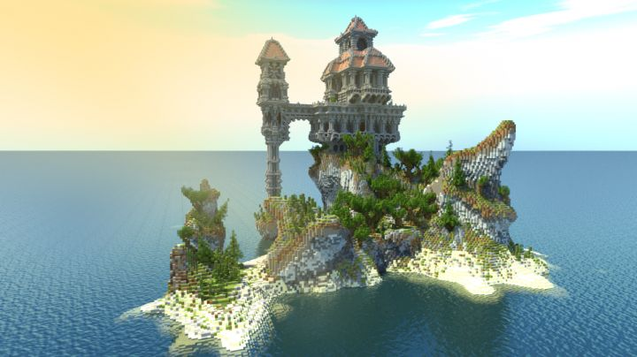 Island Manor Minecraft Project