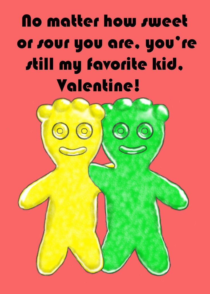 Sour Patch Kids Valentine by HermioneFrost