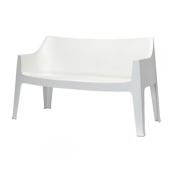 Coccolona divano bank sofa tuinbank scab design wit