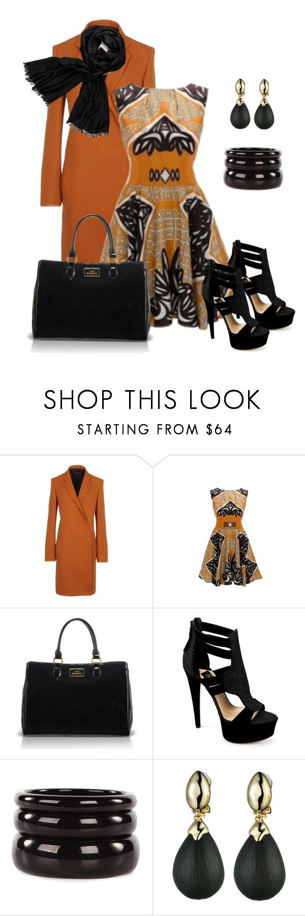 """""""Off to High Tea........"""" by grlowry ❤ liked on Polyvore featuring Haider Ackermann, Lulu Guinness, ISLO, See by Chloé, Alexis Bittar and Tory Burch"""
