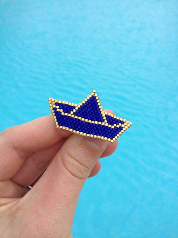 Origami bateau par studiobalthazar sur Etsy modèle déposé ! merci de citer #motifblackpearl visible sur instagram @b_l_a_c_k_p_e_a_r_l