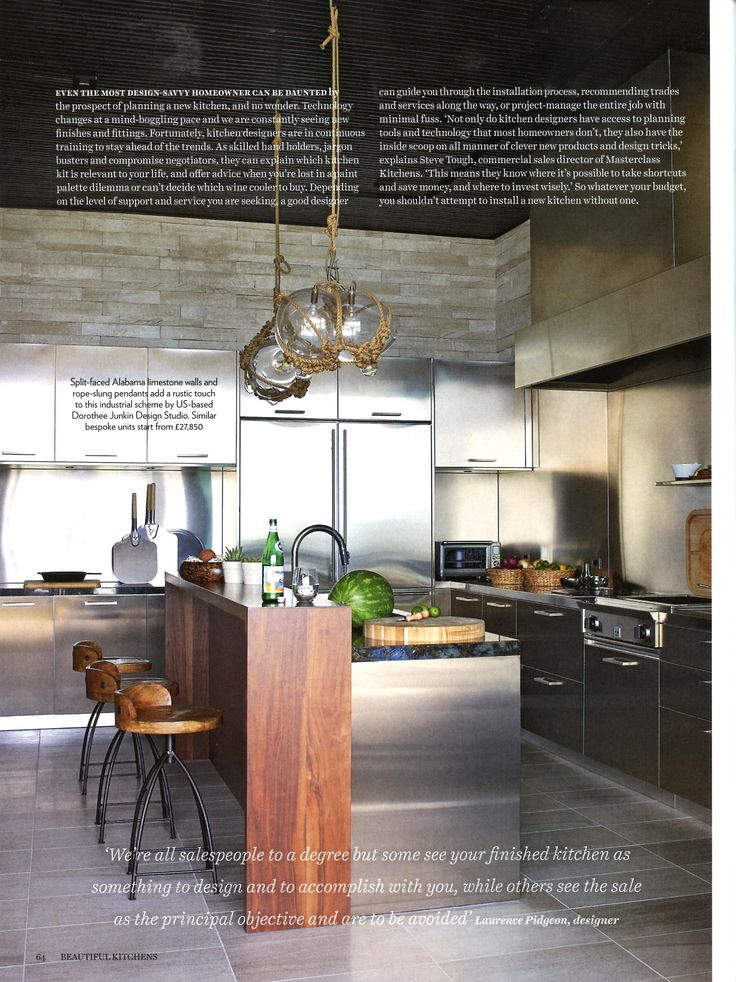 Kitchen Design Advice From Laurence Pidgeon Laurencepidgeon.com Beautiful  Kitchens October November 2015