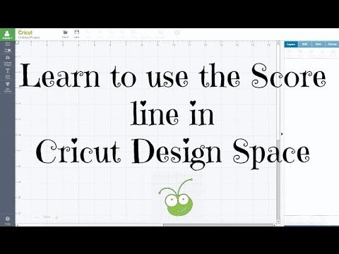 Learn how to use the score line in Cricut Design Space and removing old tic marks that you had to use to score in the past. Learn attach, weld and score. Buy...