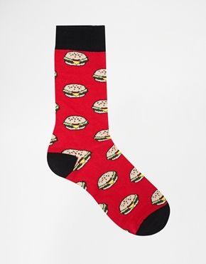 Urban Eccentric Burger Socks