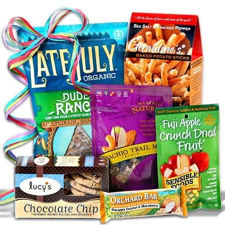 Gluten Free Gift Basket Stack - http://mygourmetgifts.com/gluten-free-gift-basket-stack/