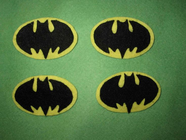 broche Batman fieltro