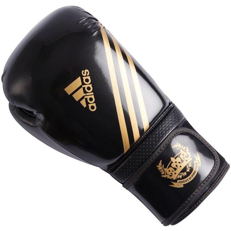 Adidas Hybrid Aero Tech Fitness Bokshandschoenen Zwart/Goud