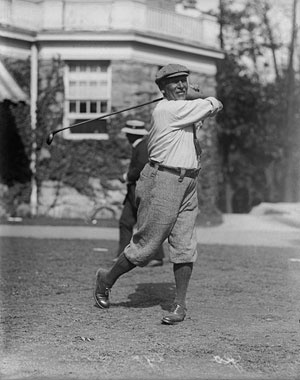 Canadian George Lyon, above, was the last Olympic gold medal winner in golf at the 1904 St. Louis games. AP Photo.    Read More http://www.golfdigest.com/golf-tours-news/blogs/local-knowledge/2012/03/celebrating-golfs-olympic-return.html#ixzz1ocvItMTz