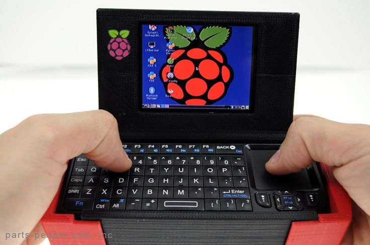Mobile Raspberry Computer Case - Portable Raspberry Pi-to-Go by partspeople  http://thingiverse.com/thing:38767