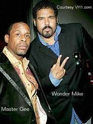 Master Gee and Wonder Mike (Sugarhill Gang)
