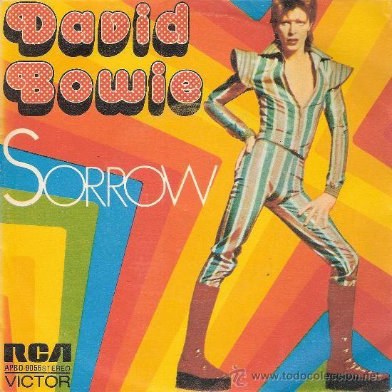 DAVID BOWIE - SORROW / LADY GRINNING SOUL (45 RPM) RCA 1973