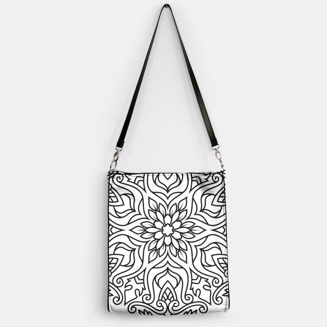 Designers ladies Bag with Mandala art