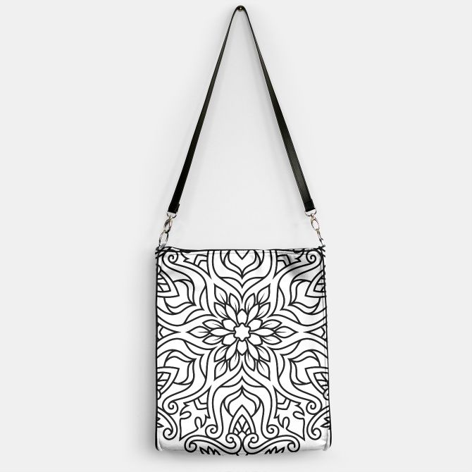 Designers ladies Bag with Mandala art