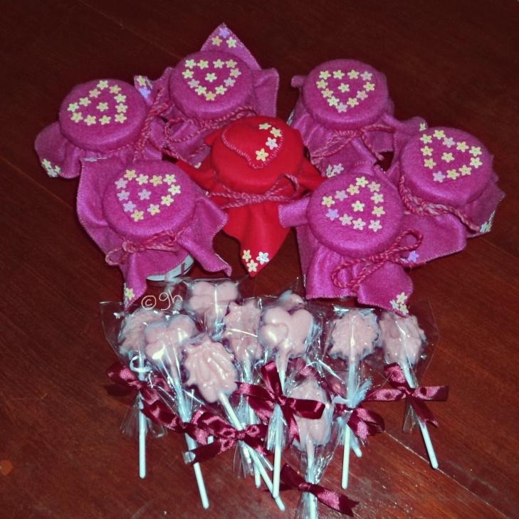 chocolate lolipops! :9