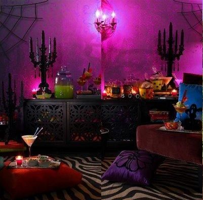 Colorful Halloween Decor