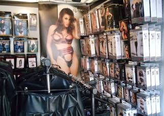 Leather BDSM clothing at German Fetish Trade