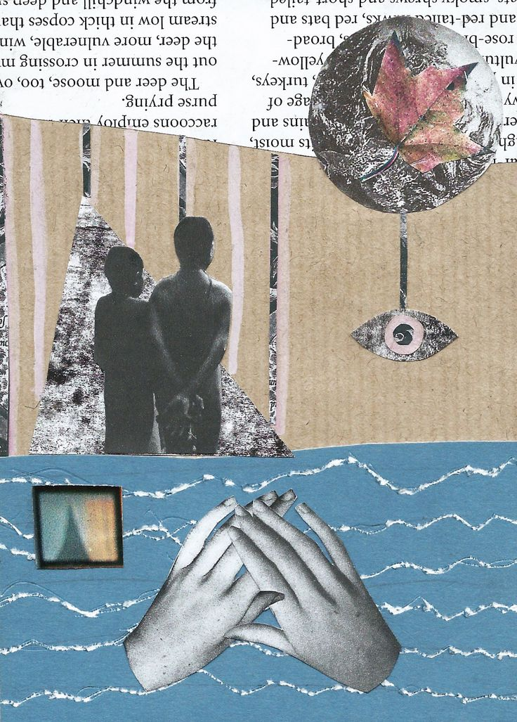 Collage from 'Free Your Mind' zine.   'Friendship' By Jemma Timberlake