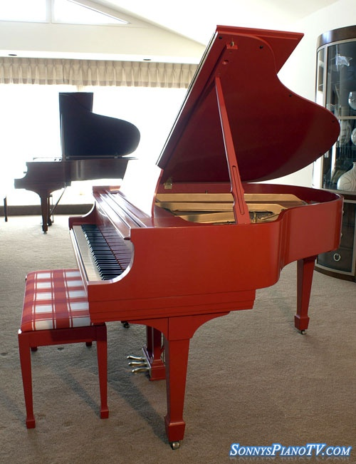 Piano Steinway Ferrari Red Baby Grand Model S 5 39 1 Brand Name Pianos For Sale Pinterest