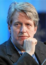 "Robert J. Shiller---------The Sveriges Riksbank Prize in Economic Sciences in Memory of Alfred Nobel 2013 was awarded jointly to Eugene F. Fama, Lars Peter Hansen and Robert J. Shiller ""for their empirical analysis of asset prices""."
