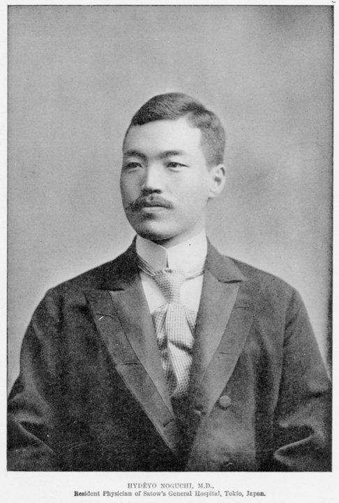 Japanese characteristics and their various diseases and treatments by Hideyo Noguchi : http://www.budwin.net/medicology/html/book08-11.html