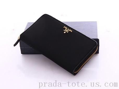 Discount #Prada 1M0506 Wallets in Black onnline sale DRMXMFSVFT