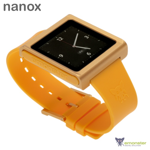 TechCrunch - nanox: High-Quality iPod nano Watch Conversion Kit