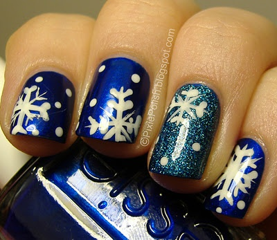 Pixie Polish: Bring On The Snow! I have to remember this for winter.