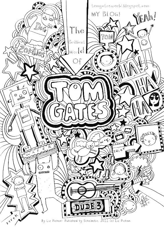 Dude Perfect Coloring Page : perfect, coloring, Christina, Sawyer, DOODLE, Coloring, Pages, Gates,, Design,, Themed, Party