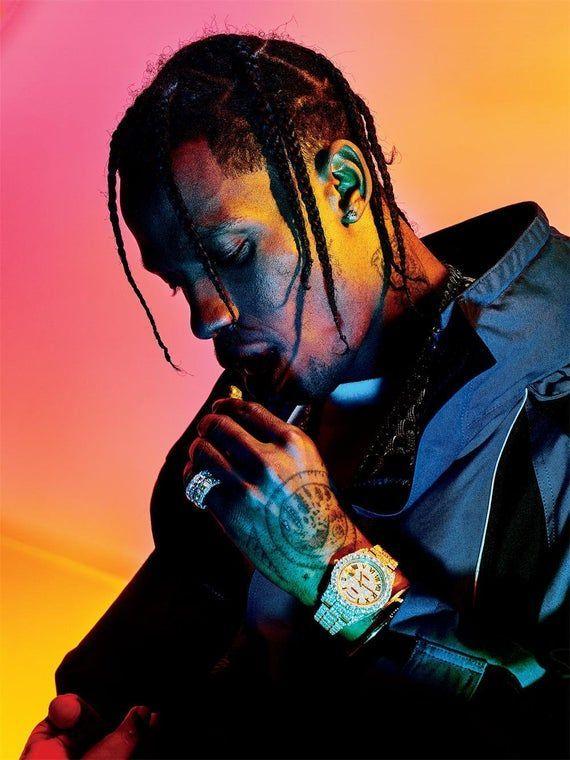 N-2909 New XXXTentacion Rapper Hip Hop Music Singer Star Fabric POSTER 30 24x36
