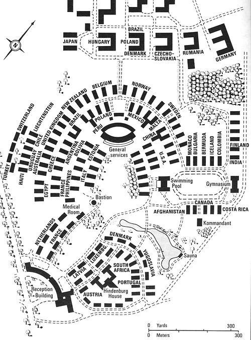 Olympic Village 1936 Berlin Games