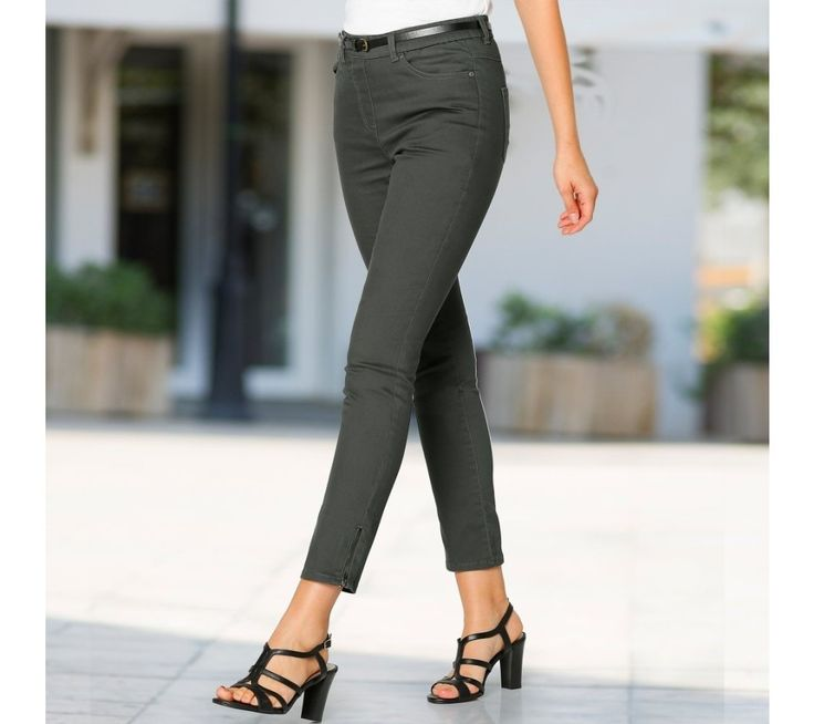 7/8 nohavice so zipsom | blancheporte.sk #blancheporte #blancheporteSK #blancheporte_sk #trousers