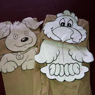 paper sack puppets Paper bag puppets i abcteach provides over 49,000 worksheets page 2.