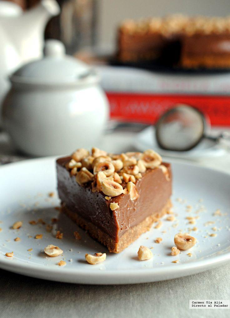 Directo al Paladar - Cheesecake de Nutella sin horno. La increíble receta de Nigella Lawson