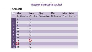 Quiero saber cuáles son mis días #fértiles: Conocimiento preliminar
