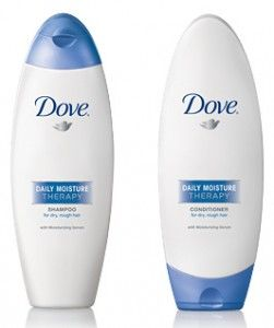 Dove products. I'm a fan of their products especially the shampoo and soap