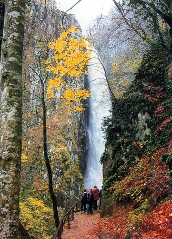 Waterfalls in Xanthi town Thrace