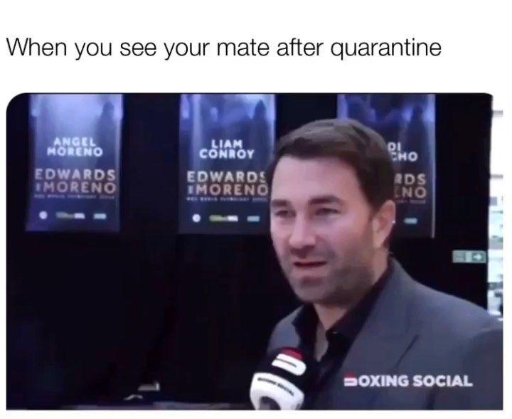 No Context Hearn On Instagram Follow Eddiehearnreacts Follow Eddiehearnreacts Boxing Anthonyjoshua Edd British Memes Context Anthony Joshua