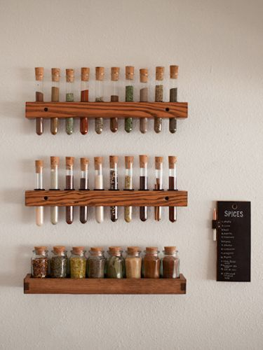 6 Cute Ways to Have Fun With Test Tubes - clever to make for someone with limited space in their home