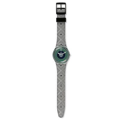 Swatch Green Spell Standard Size Watch