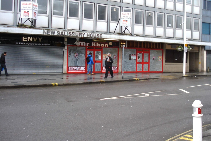 End of High Street, Slough.  There are good people in Slough, but we could do with more economic activity.