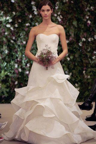 Robe de mariée originale Carolina Herrera