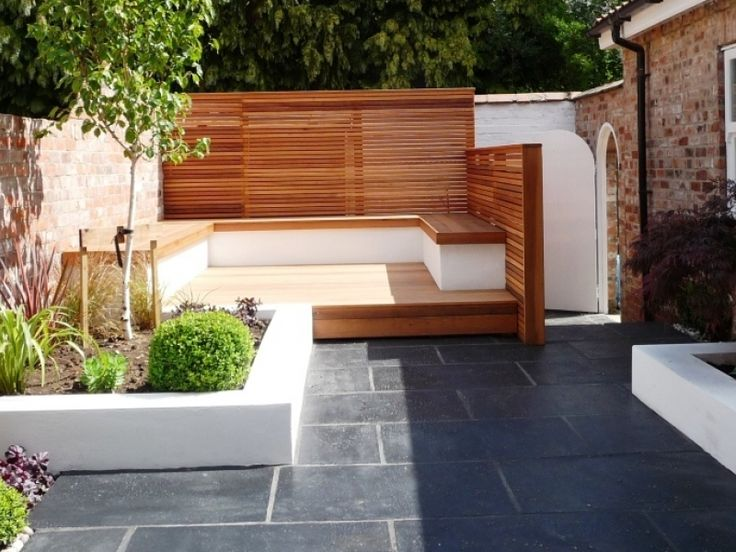 attractive small split level garden ideas #5: split level small garden - Google Search | Garden Ideas | Pinterest |  Project red, Small gardens and Red leaves