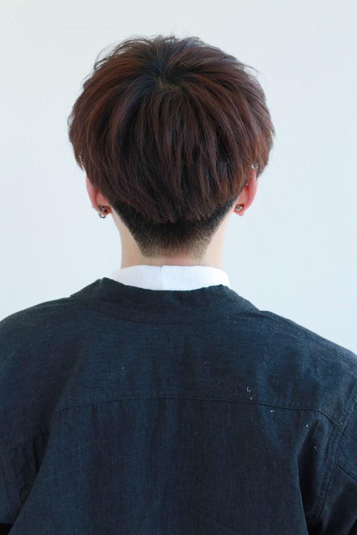 韓国風マッシュ 黒髪ヘア メンズ 髪型 Lipps 原宿 ヘア