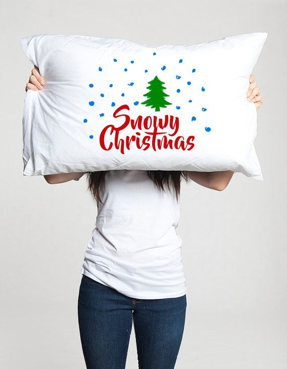 Merry Christmas pillow Gift idea for mom dad his husband boyfriend men Holiday xmas funny decor bedding We wish you a merry Christmas gifts (1 piece) …