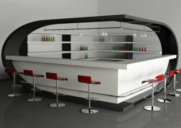 Unique futuristic modern bar counter bar counter design ideas best home design ideas and - Contemporary bar counter design ...